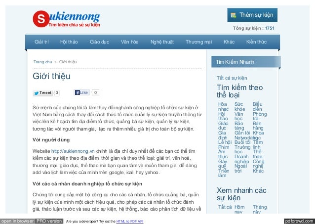 pdfcrowd.comopen in browser PRO version Are you a developer? Try out the HTML to PDF API Thêm sự kiện Tổng sự kiện : 1751 ...