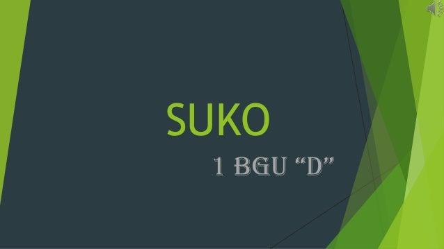 """SUKO 1 BGU """"D"""""""