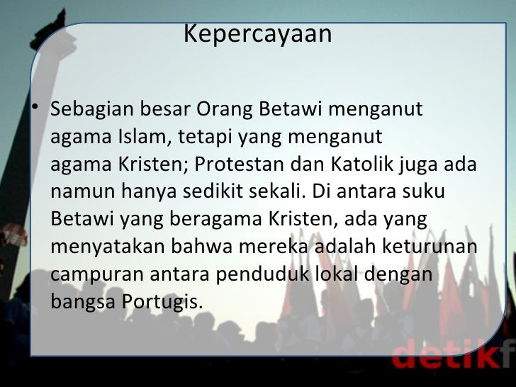 Suku Betawiiii