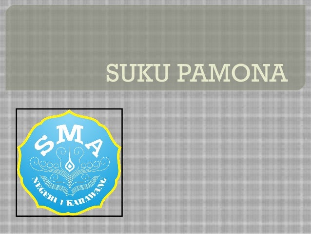 SUKU PAMONA