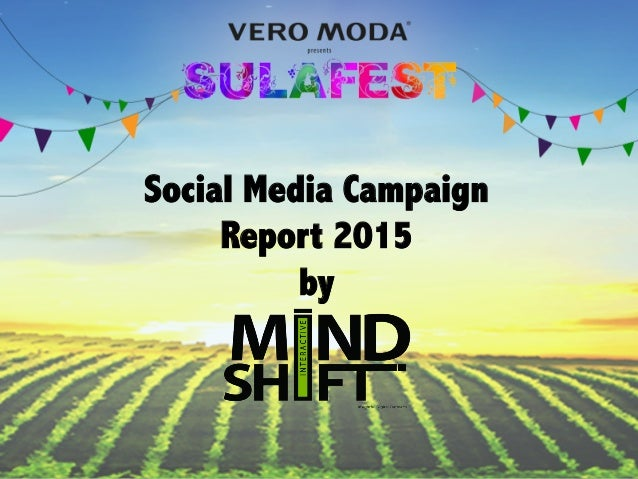 Social Media Campaign Report 2015 by