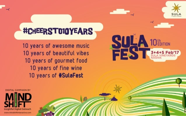 SulaFest 2017 Digital Marketing Strategy