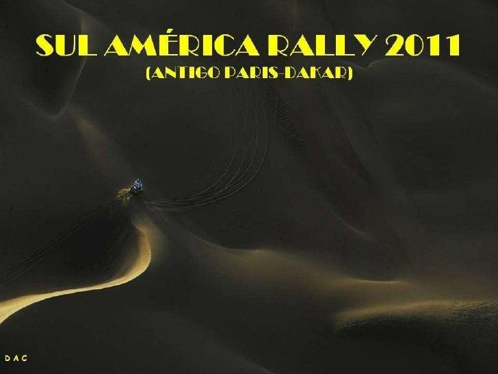 South America Rally Slide 1