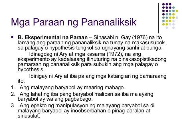 paraan ng pananaliksik sa thesis Hakbang sa paggawa ng pananaliksik - duration: epekto ng cellphone teksting sa wikang filipino (pananaliksik 9 tips sa paggawa ng thesis.