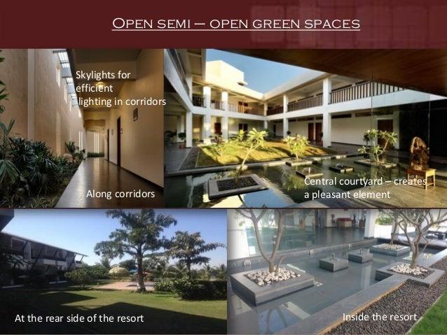 Sula vineyard case study for Semi open spaces