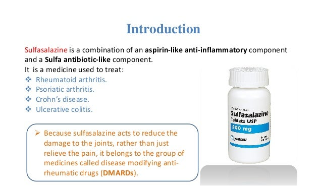Azulfidine Sulfasalazine