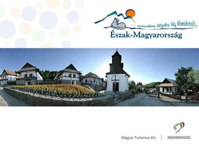 Hidvéginé Molnár Judit Igazgató Magyar Turizmus Zrt. Észak-magyarországi Regionális Marketing Igazgatóság Regionális turiz...