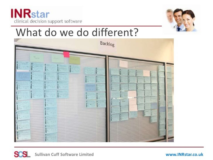 What do we do different?<br />