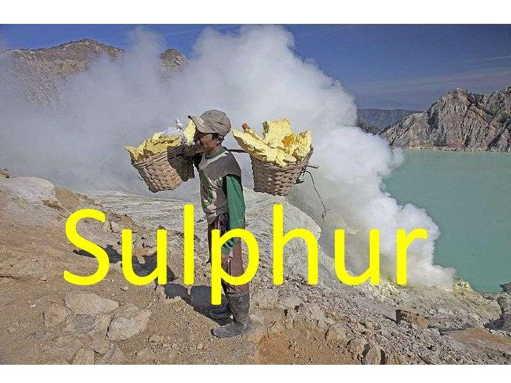 Sulphur<br />