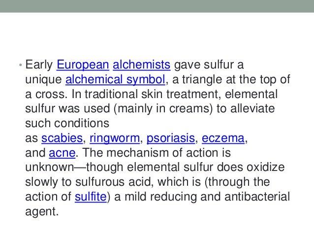 Element Sulfur