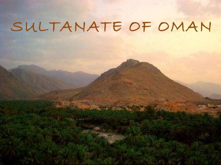 SULTANATE OF OMAN