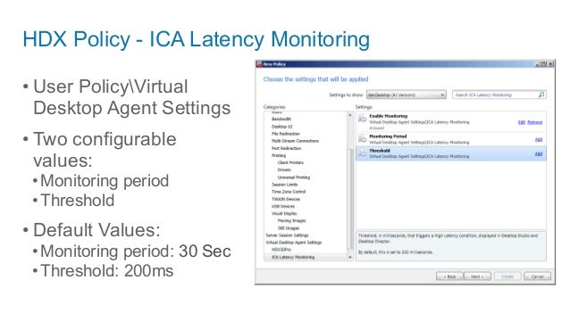 Health monitoring and alerting for xen app, xendesktop and