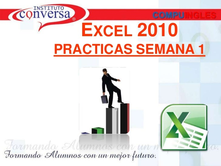 EXCEL 2010PRACTICAS SEMANA 1