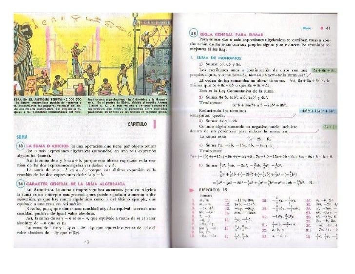 Suma De Polinomios (Algebra De Baldor)