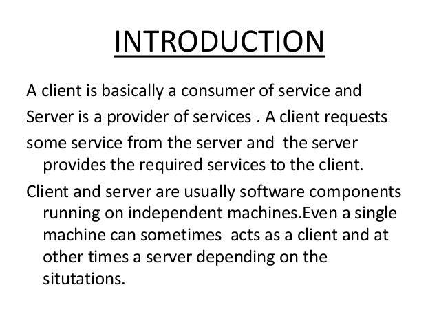 CLIENT SERVER IN OS.ppt Slide 2