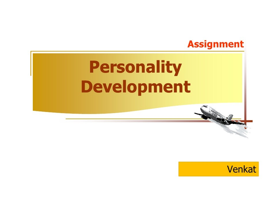 Personality Development By (C-2) Assignment