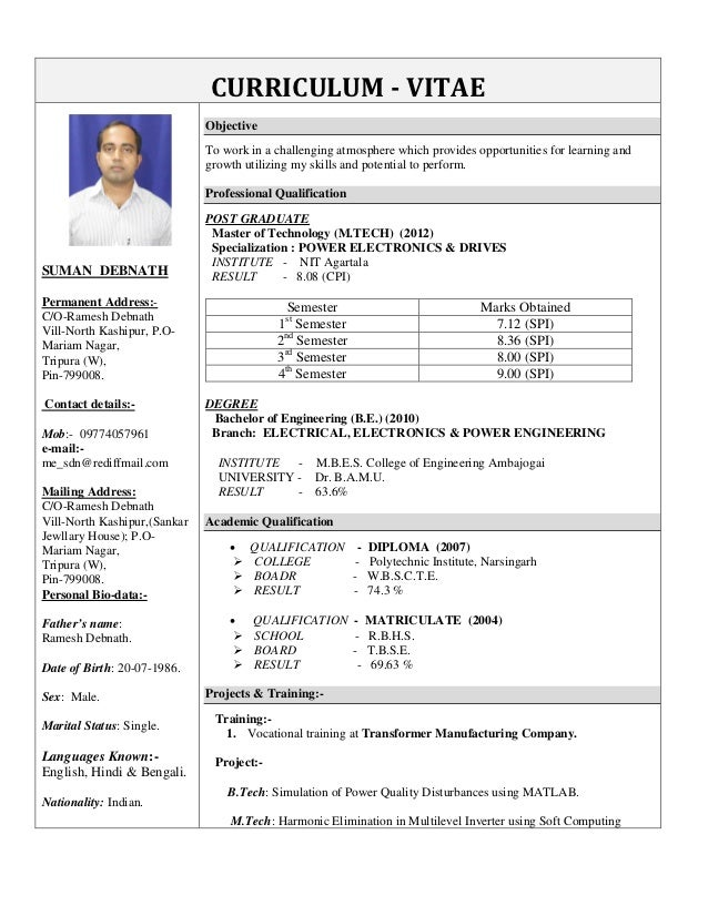 Suman debnath updated cv