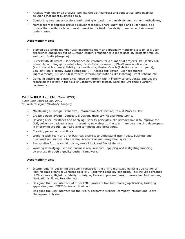 sumanta resume