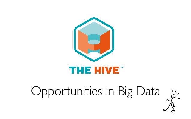 Opportunities in Big Data