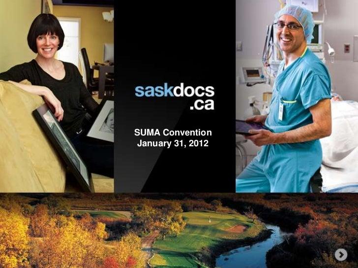 SUMA Convention January 31, 2012
