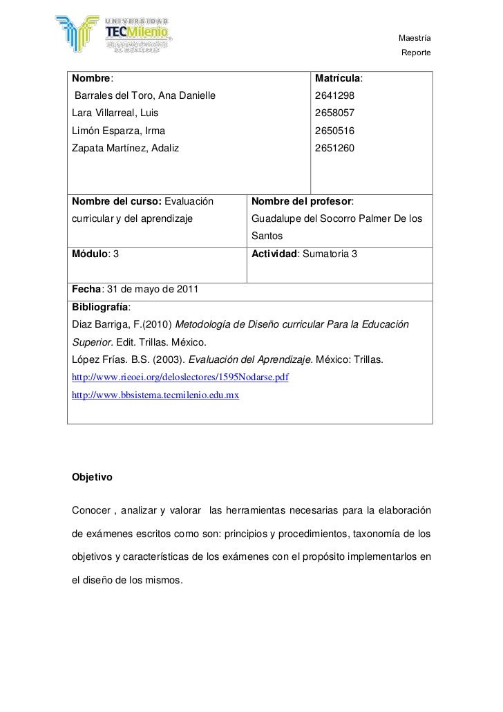 Nombre: Barrales del Toro, Ana DanielleLara Villarreal, LuisLimón Esparza, Irma                      Zapata Martínez, Adal...