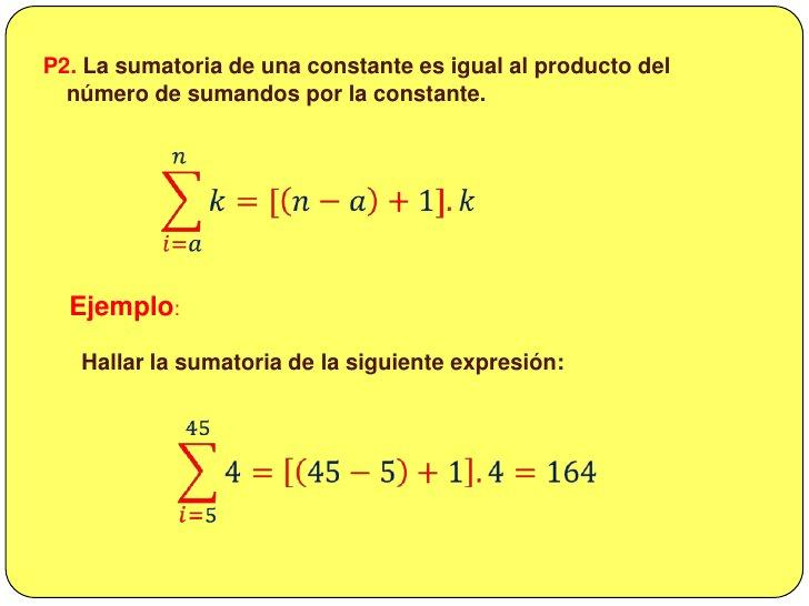 De donde se deduce la fórmula de la  sumatoria de los n primeros números.<br />𝑖=1𝑛𝑖=1+2+3+4+…+𝑛=𝑛𝑛+12<br /><br /...