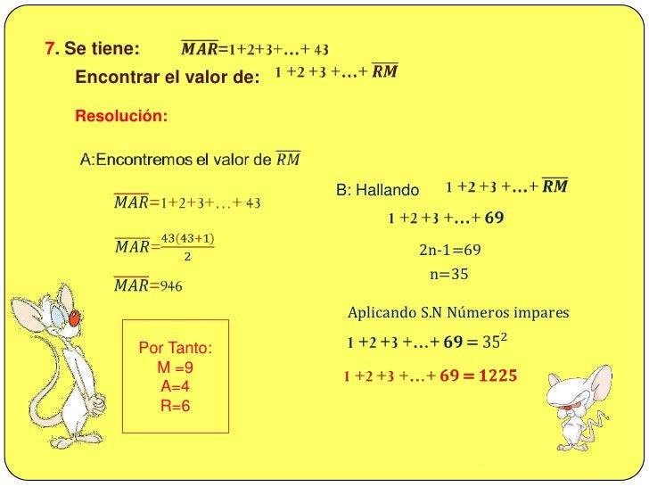 𝐸=0,01+0,03+0,05+…+19,99<br /><br />6. Calcular E: <br />Resolución:<br />𝐸=0,01+0,03+0,05+…+19,99<br /><br />:Decimal...