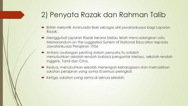 Gpp1063 Sumbangan Aminuddin Baki Terhadap Sistem Pendidikan Di Mala