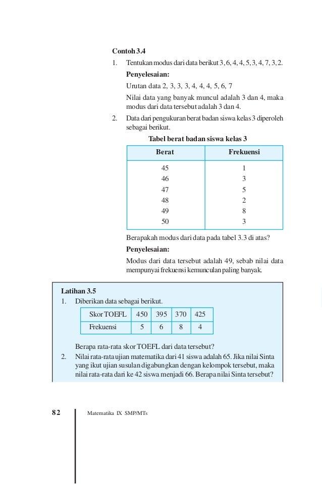 Statistik Pend KD 1, 2, 3 dan 4