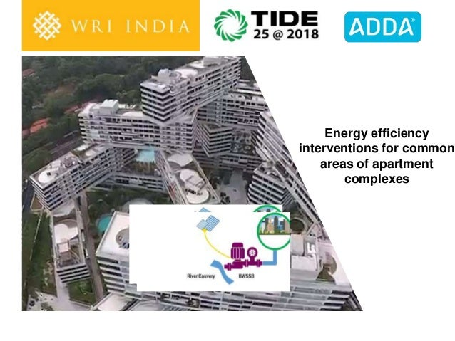 Energy efficiency interventions for common areas of apartment complexes
