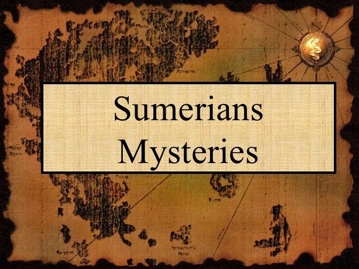 SumeriansMysteries