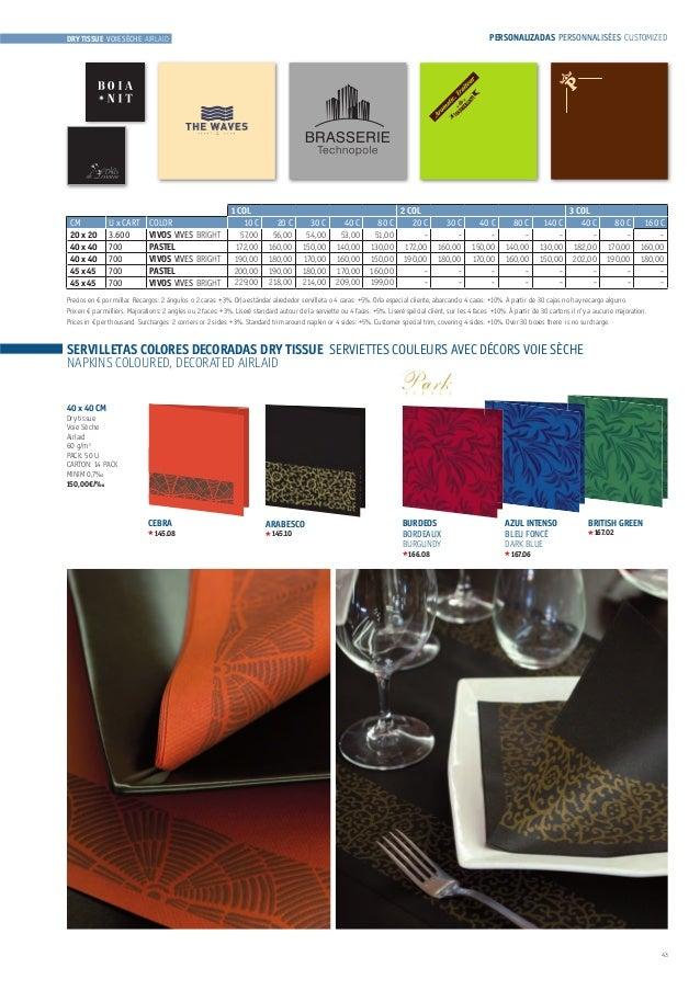 """Gold Beige Feuilles 13/"""" X 13/"""" 33 cm x 33 cm 20 x 3 Ply Serviettes En Papier"""