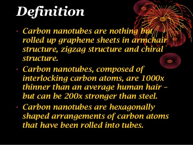 Growth Of Carbon Nanotubes