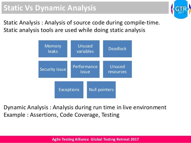 static analysis of a source code Assembla static code analysis identifies vulnerabilities in proprietary and open  source code before your applications are deployed.