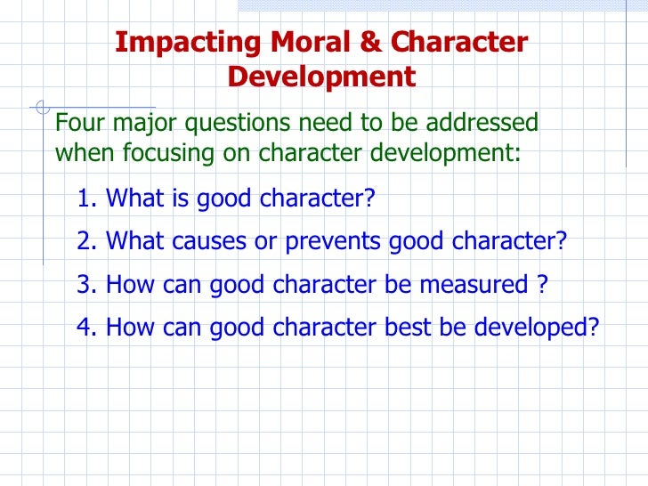 Essays morality good design