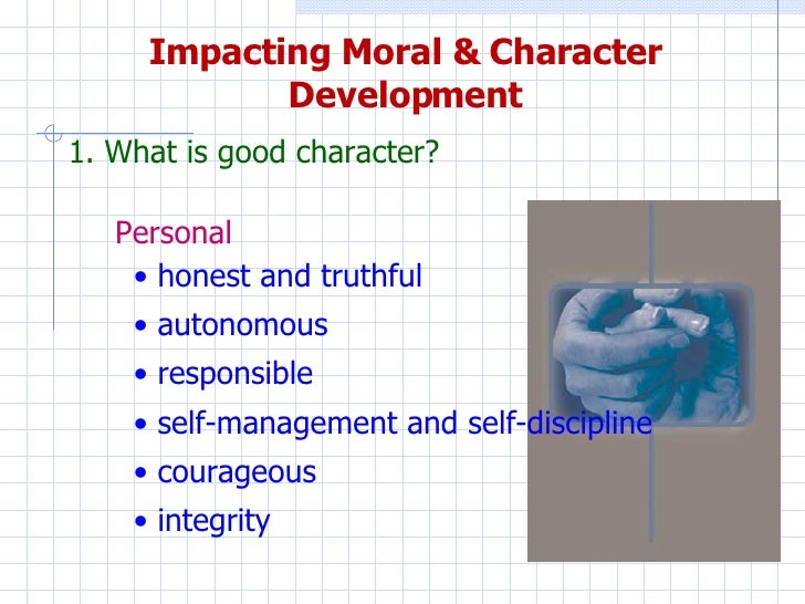 A paper on the value of character