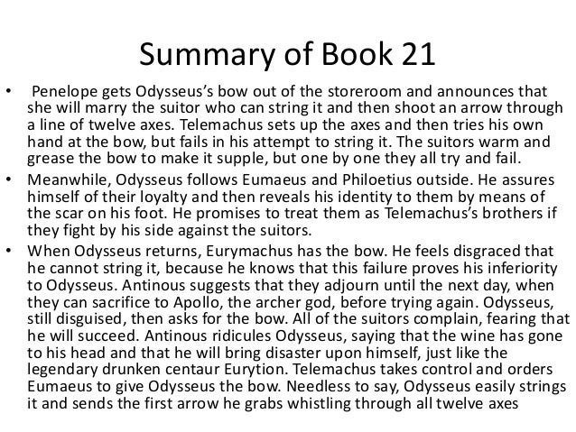 book 20 the odyssey summary