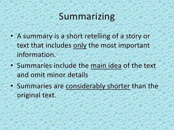 5th Grade Summarizing and Paraphrasing – Paraphrasing Worksheets