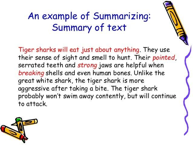 Paraphrasing and summarizing video