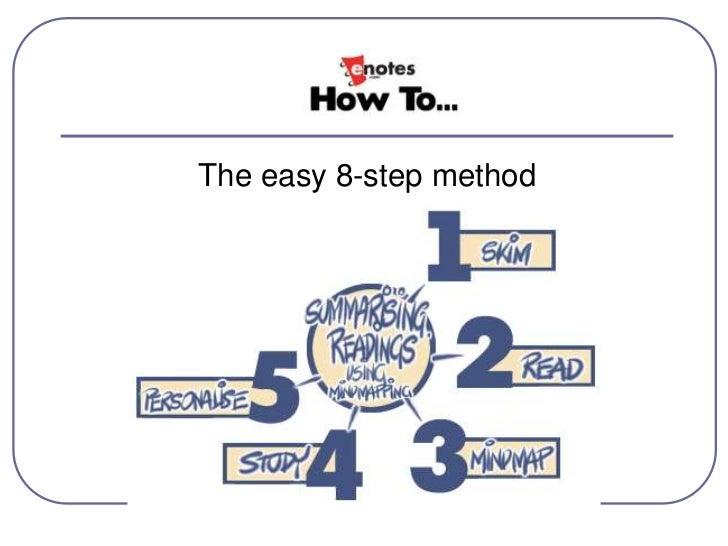 tips on summarizing an essay