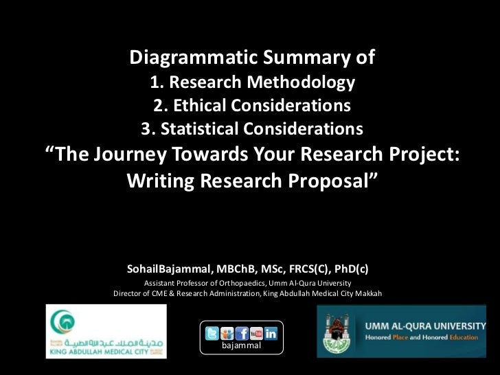 research summary and ethical considerations