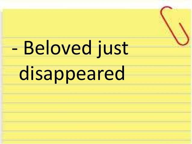 Beloved Summary
