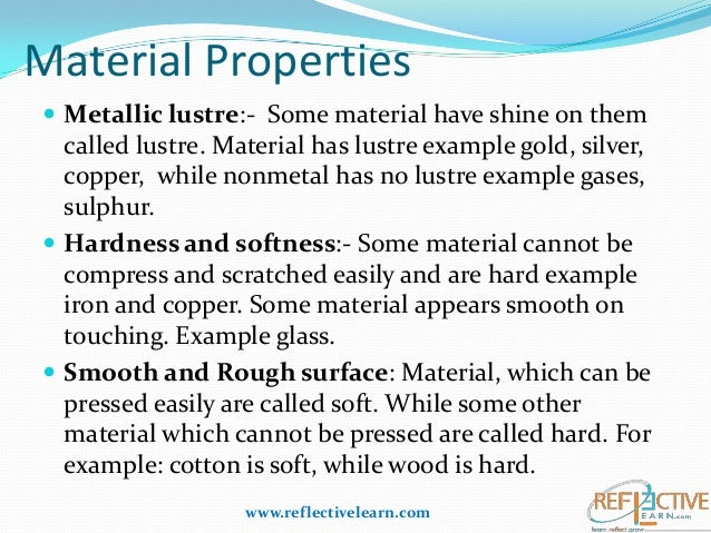 Class 6 Science Different Kinds Of Materials