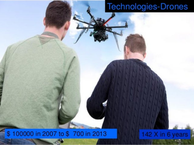 Projected 80% price drop in productions costs between 2014-2020 Technologies -Nanotech- Graphene