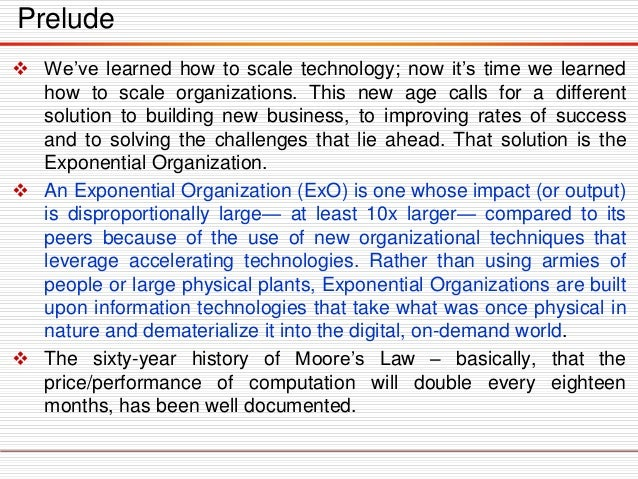  We've learned how to scale technology; now it's time we learned how to scale organizations. This new age calls for a dif...