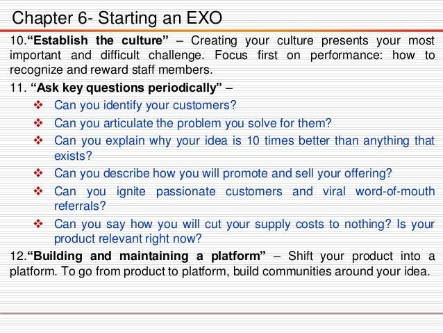 ExO Market cap Improvement