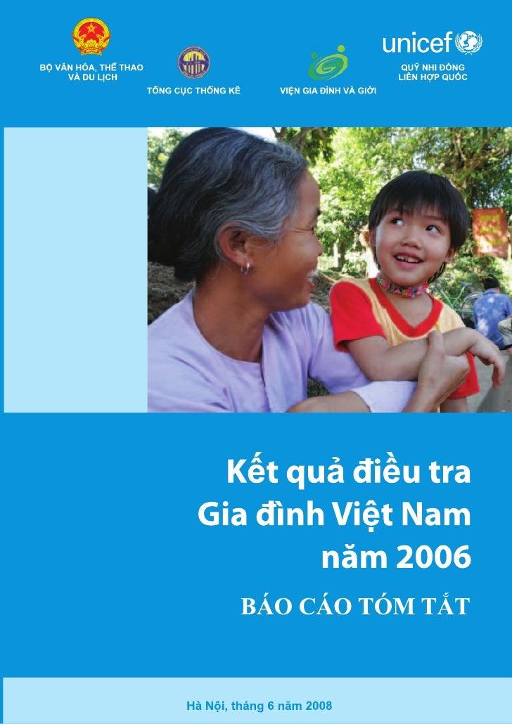 Bé v¨n hãa, thÓ     Tæng côc        UNICEF         ViÖn thao vμ du lÞch     thèng kª                   Gia ®×nh vμ        ...