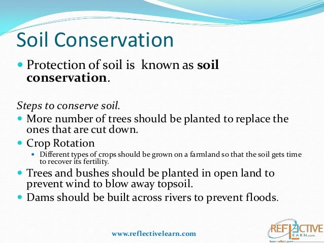 Printables Soil Conservation Worksheet class iv science soil conservation