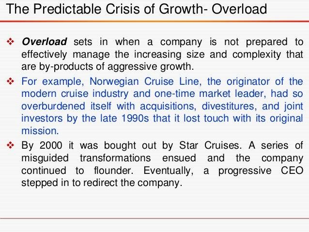 Three Types of Growth Crisis