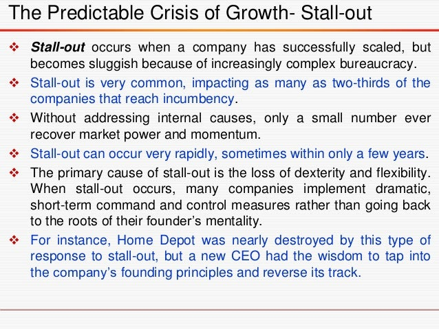  An unscalable founder: A founder that cannot let go of the reins and adapt to growth.  This often results in a bottlene...